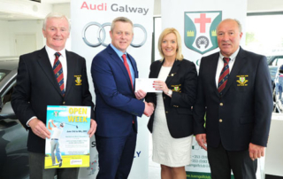 Tuam Golf Club Open Week from June 2nd to 9th and kindly sponsored by Connolly Motor Group Audi, Galway