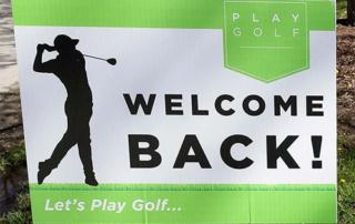 Tuam Golf Club Reopens - April 26
